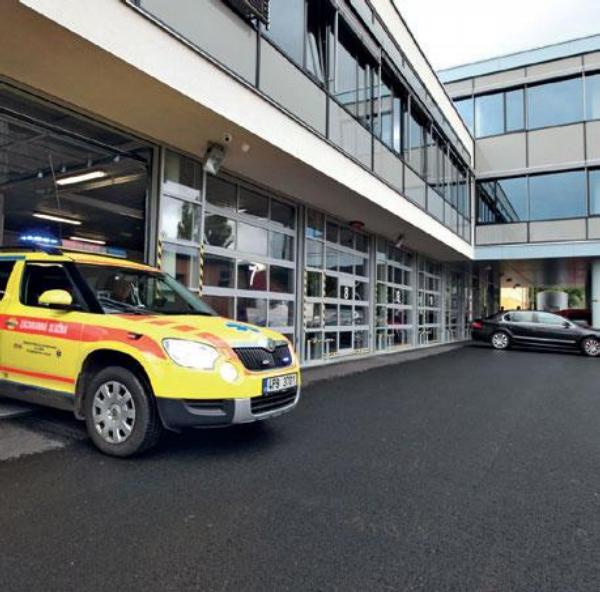 Plzeňští záchranáři mají novou budovu.