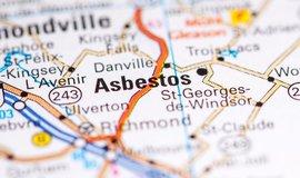 Kanadské město Asbestos