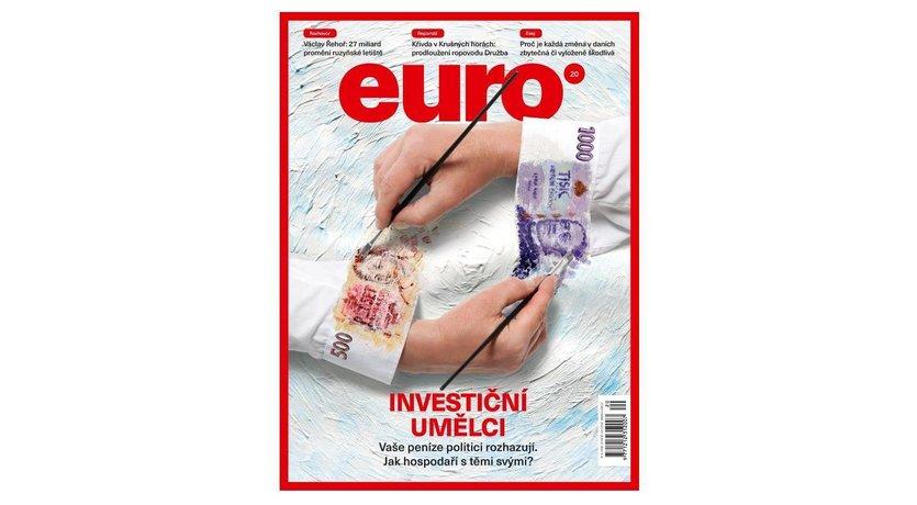 Nová obálka týdeníku Euro