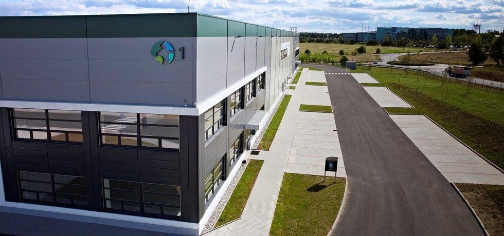 Logistický komplex Prologisu v Jenči nedaleko Prahy