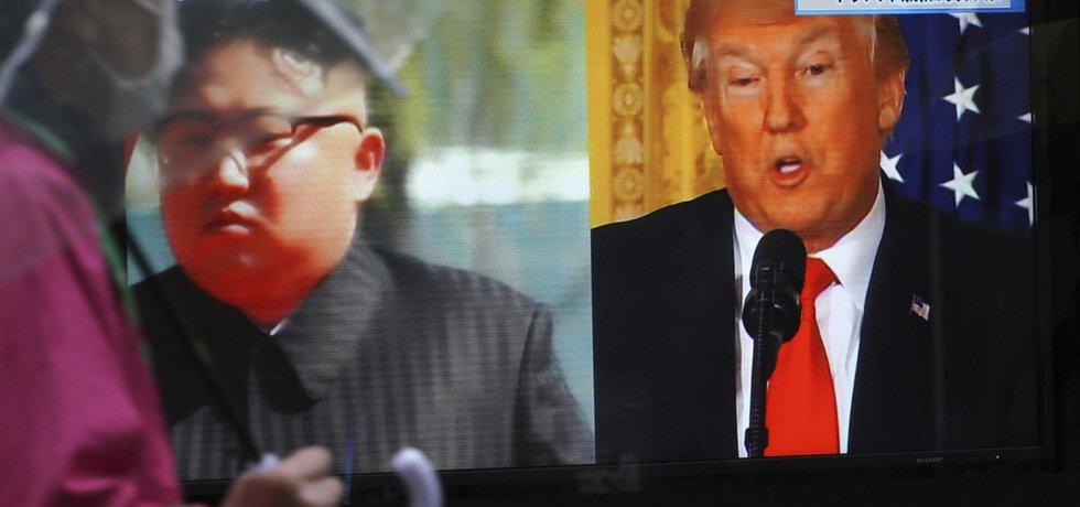 Trump se setká s Kimem