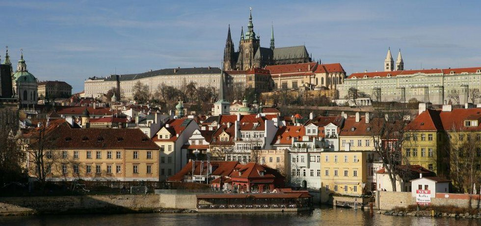 Pražský hrad, ilustrační foto