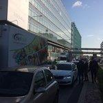 Blokáda dopravy v Praze.