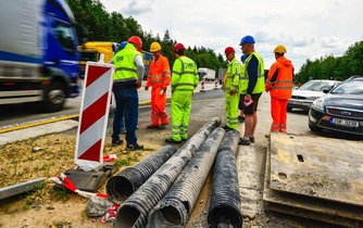 Rekonstrukce dálnice D1, ilustrační foto