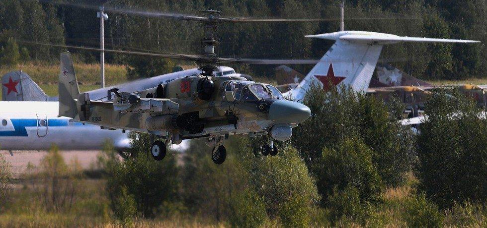 Vrtulník Ka-52, ilustrační foto