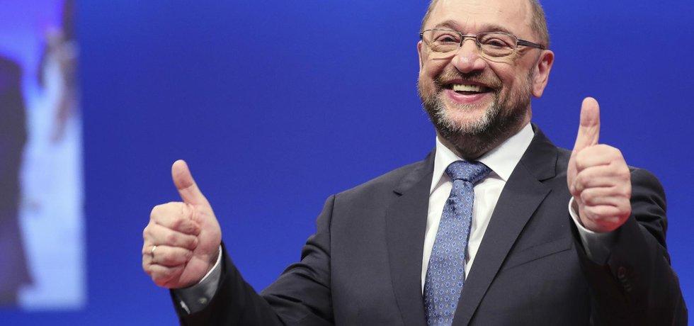 Šéf SPD Martin Schulz