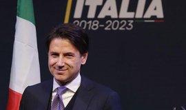 Nový italský premiér Giuseppe Conte z Hnutí pěti hvězd