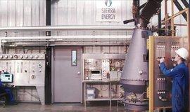 Zařízení Sierra Energy na rozkládání odpadu na molekuly pomocí extrémních teplot