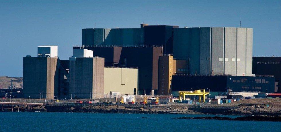 Jaderná elektrárna Wylfa ve Walesu, ilustrační foto