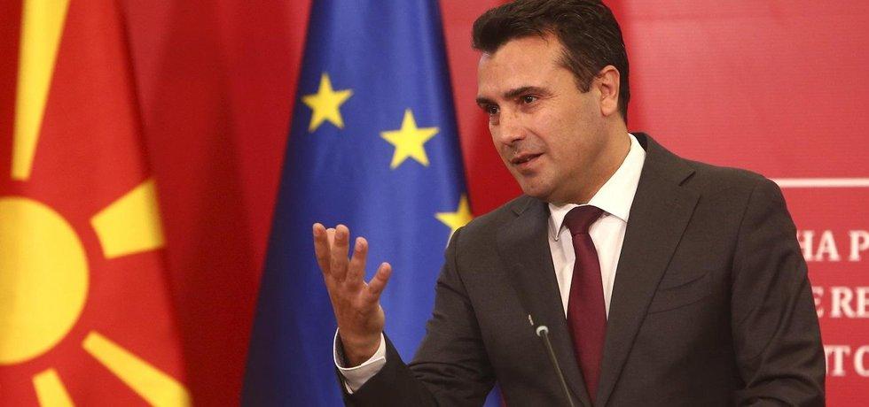 Premiér Severní Makedonie Zoran Zaev