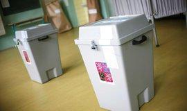 Volby, lustrační foto