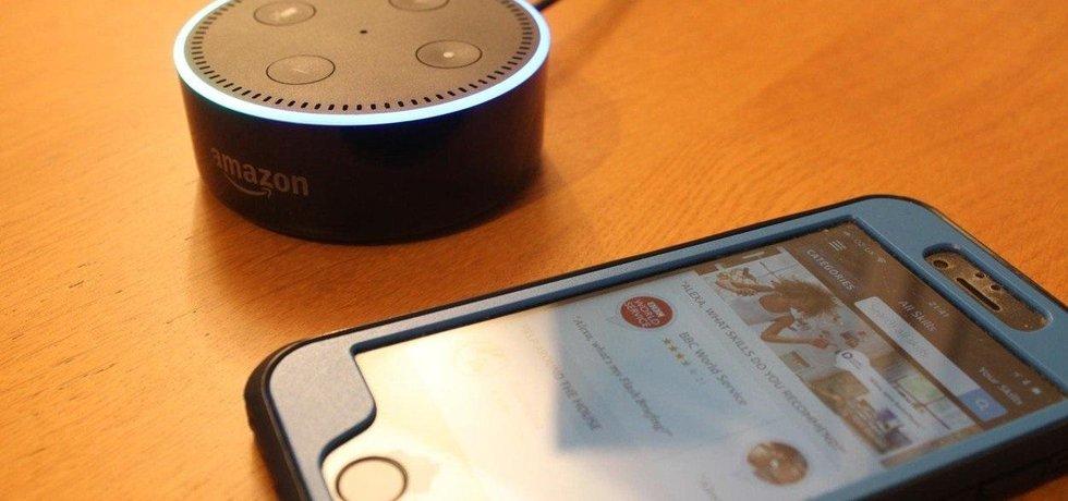 Hlasový asistent Alexa firmy Amazon, ilustrační foto