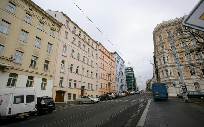 Škrétova ulice na Praze 2 (ilustrační foto)