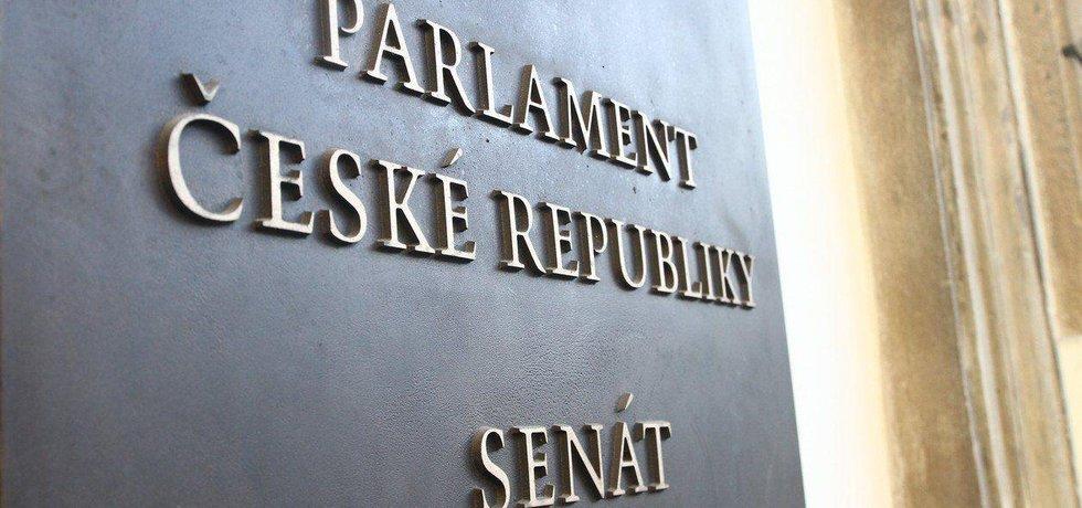 Budova Senátu Parlamentu České republiky