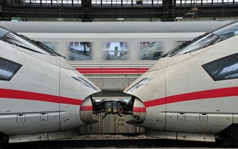 Vlaky ICE překonají vzdálenost z Mnichova do Berlína za méně než 4 hodiny