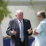 Bývalý slovenský premiér Vladimir Mečiar si ve vile Tugendhat připomněl tehdejší jednání s Václavem Klausem