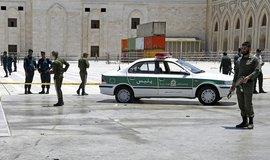 Čtyři útočníky teheránská policie zastřelila