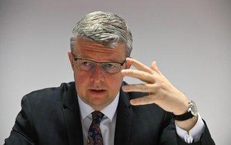 Ministr průmyslu Karel Havlíček