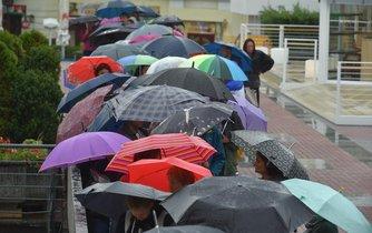 Česko sužuje vydatný déšť