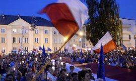 Demonstrace v Polsku probíhají již několik měsíců