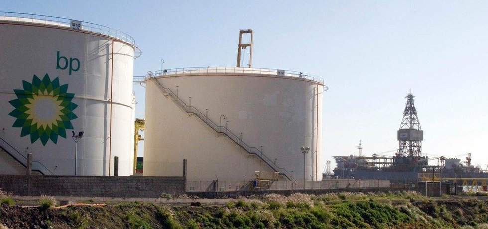 Zásobník na ropu společnosti BP, ilustrační foto