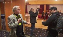 Napadení novináře ve štábu Miloše Zemana