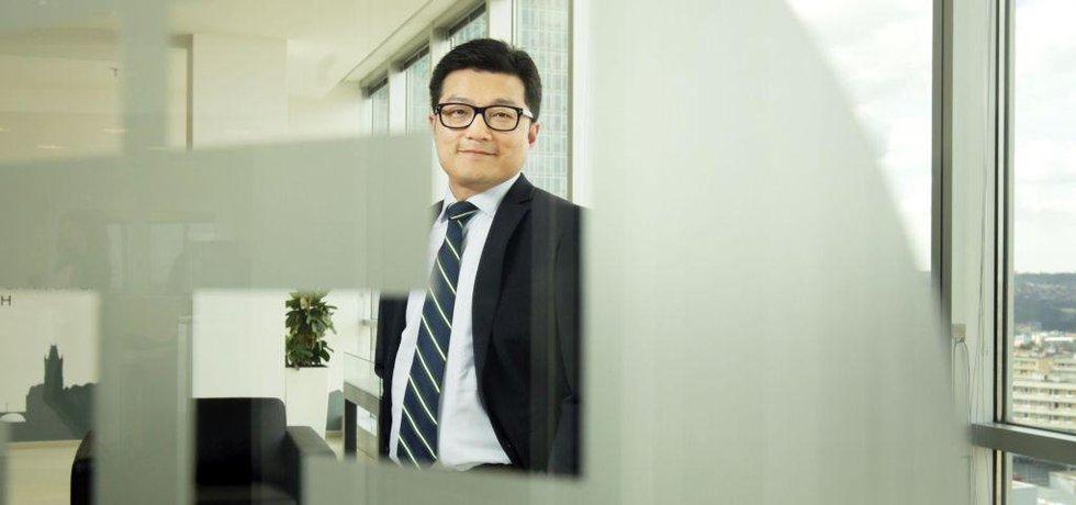 Ředitel české pobočky ICBC Jang Jü