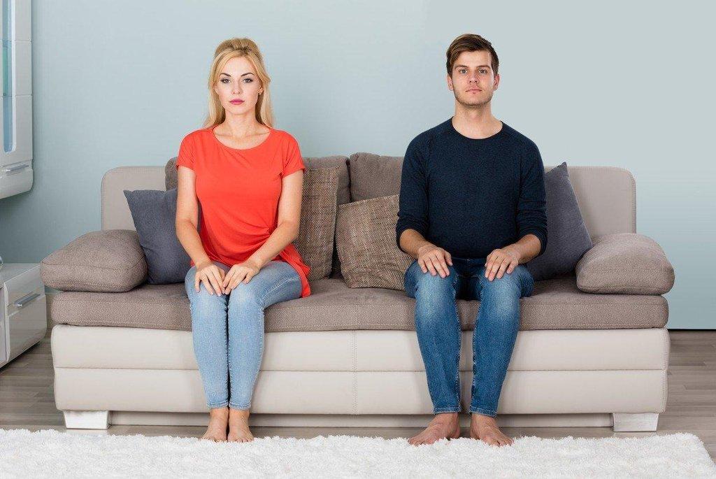Nesmělý pár, ilustrační foto