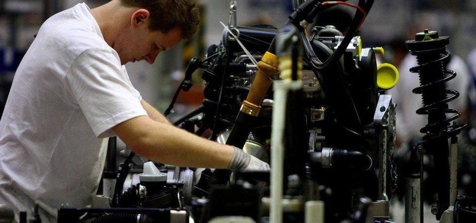 Výroba v automobilce Škoda Auto v Mladé Boleslavi
