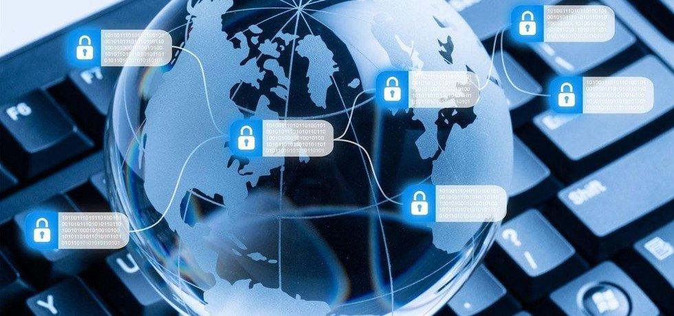 Bitcoin a technologie blockchain, ilustrační foto