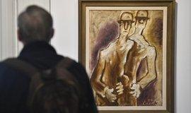Obraz Josefa Čapka Dva chlapi