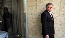 Předseda slovenské sociální demokracie Smer Robert Fico