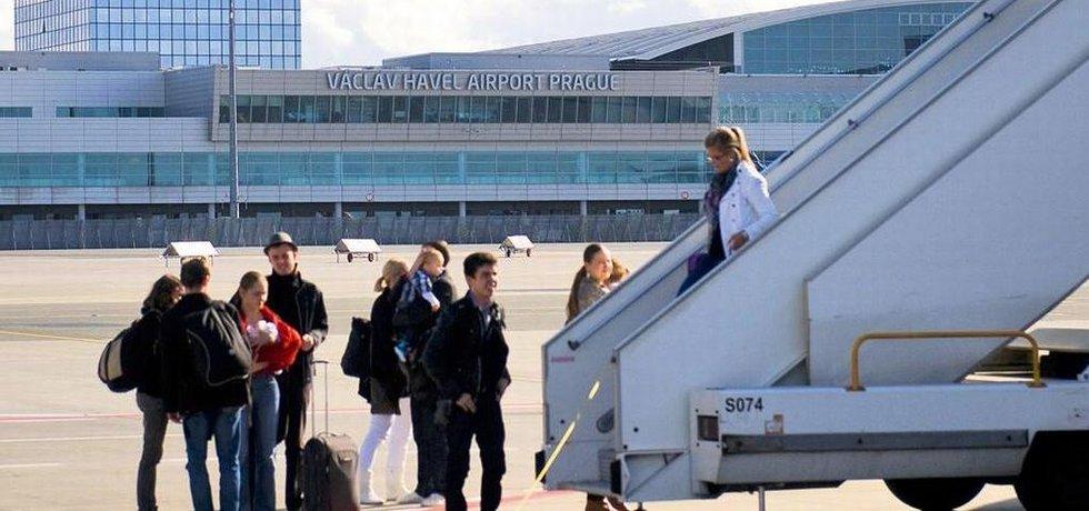 Letiště Praha, ilustrační foto