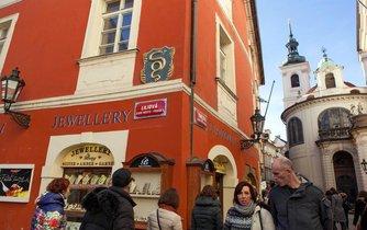 Liliová ulice v Praze