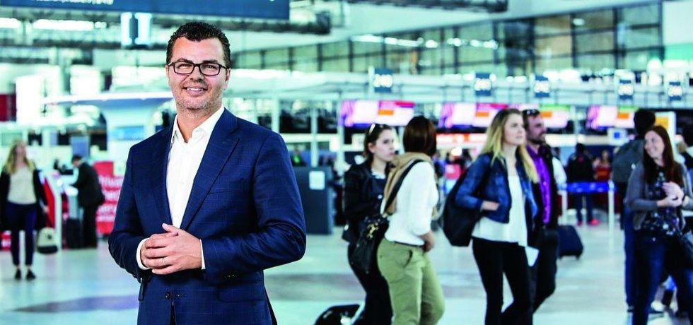 Ředitel Letiště Praha Václav Řehoř