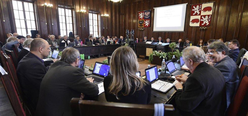 Zasedání jihlavského zastupitelstva