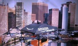 Amazon již testuje dopravu zásilek drony