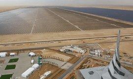 Výstavba gigantické solární elektrárny v Dubaji