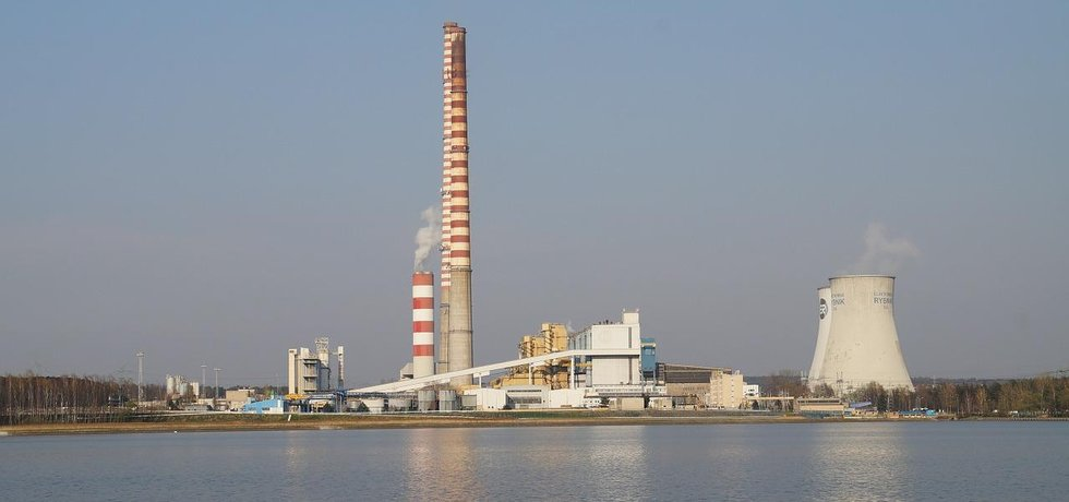 Polská uhelná elektrárna Rybnik