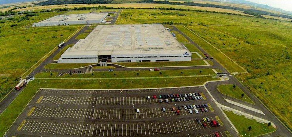 Průmyslová zóna Triangl, kde Nexen postaví svou továrnu
