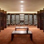 Oppidum (Česko) Samozřejmostí je i vinný sklep, který pojme tisíce lahví vína. V celém komplexu je pak jídlo a pití na pohodlné žití po dobu deseti let.