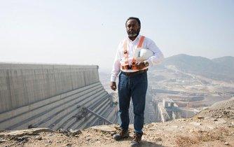 Projekt přehrady GERD se stal pro Etiopany symbolem naděje v lepší budoucnost.