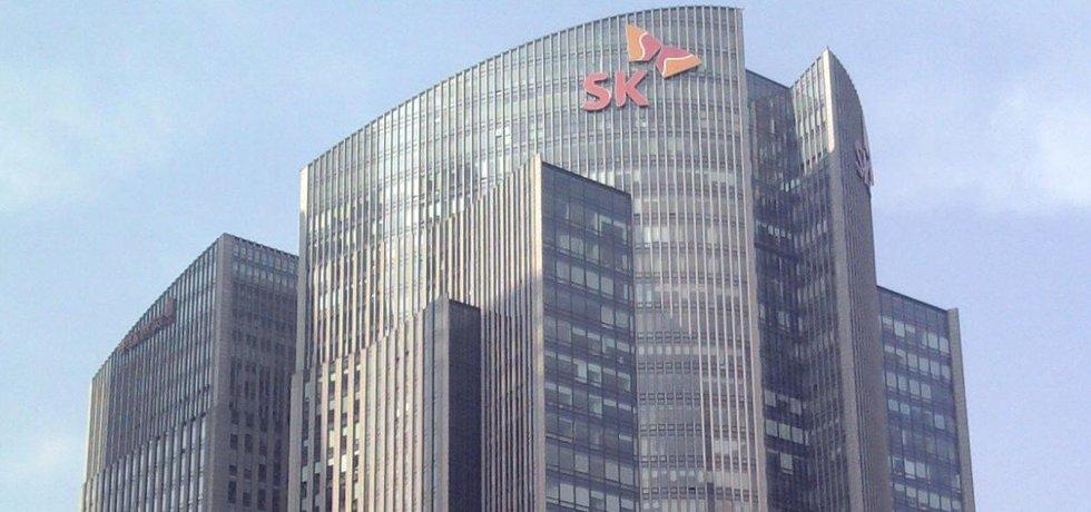 Budova SK Group v Pekingu.