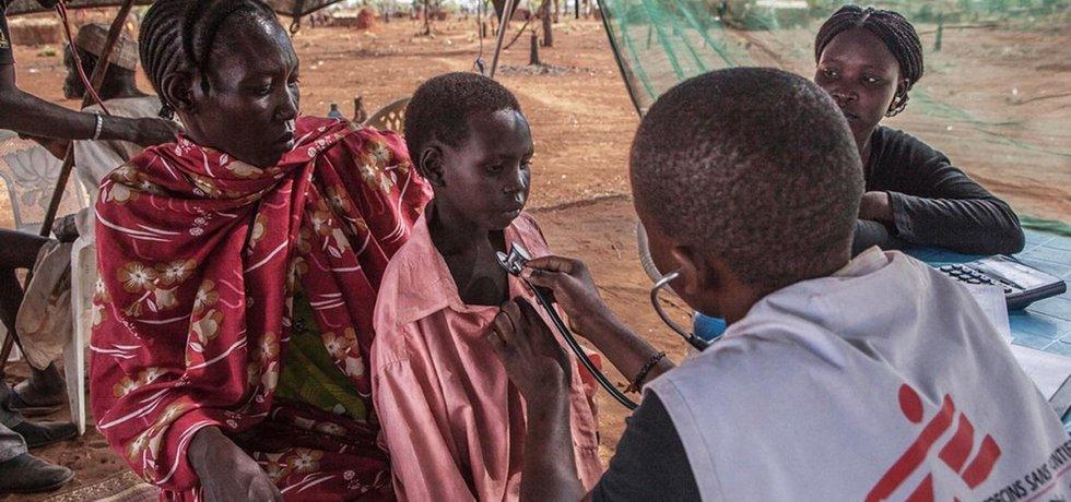 Lékaři bez hranic - ilustrační foto