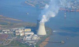 Belgická jaderná elektrárna Doel.