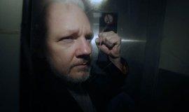 Zakladatel serveru WikiLeaks Julian Assange
