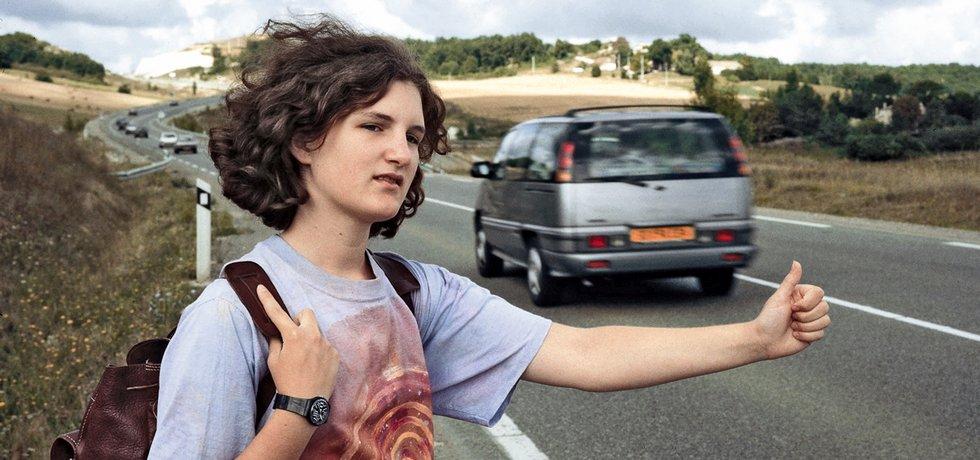 Autostop, ilustrační foto