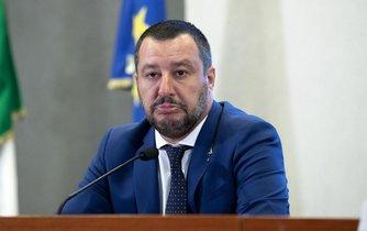 Italský ministr vnitra Matteo Salvini
