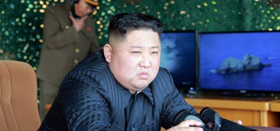 Severokorejský vůdce Kim Čong-un, ilustrační foto