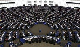 Hlasování Evropského parlamentu ve Štrasburku